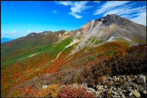 那須岳の紅葉アイキャッチ画像