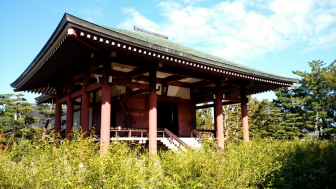 中宮寺の本堂