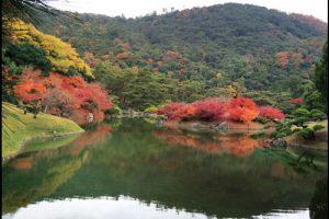 栗林公園の紅葉アイキャッチ画像