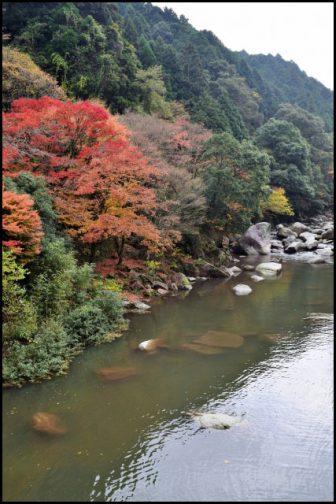耶馬渓南畑公園の紅葉