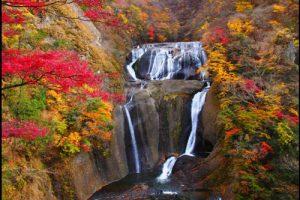 袋田の滝の紅葉アイキャッチ画像