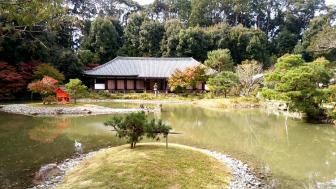 浄瑠璃寺の本堂