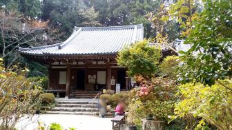 岩船寺の本堂
