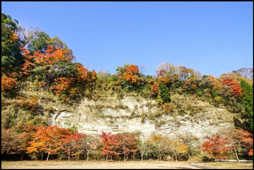養老渓谷の梅ヶ瀬渓谷の紅葉のアイキャッチ画像