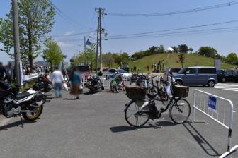 舞洲シーサイドパークの無料駐輪場(バイク・自転車)