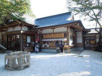 石切神社上之社の御朱印受付場所