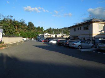 奈良市・般若寺の駐車場