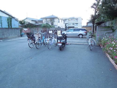 奈良コスモス寺【般若寺】の自転車置き場(駐輪場)アイキャッチ画像