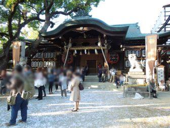 石切神社の社殿