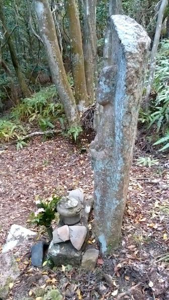 鹿背山不動の春日のおばはん(側面)