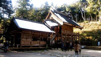 神魂神社の本殿