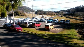 神魂神社の無料駐車場