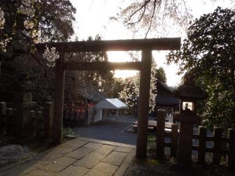 大豊神社の境内