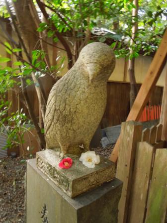 大豊神社の狛鳶