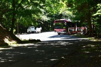 岩間寺-石山駅のシャトルバス