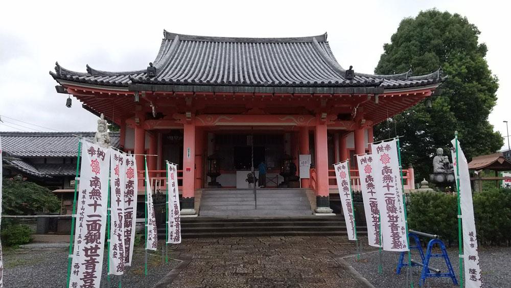 美江寺観音(岐阜市)nの本堂